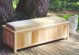 Outdoor Storage Bench Deck Storage Bench With Wooden Outdoor Storage Box With Outdoor
