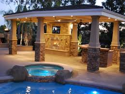 Covered Patio Decorating Ideas by Image 22 Covered Patio With Tv On Covered Patio Lighting Idea Rdcny