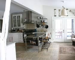 stainless steel kitchen island table kitchen eclectic kitchen design pictures remodel decor and