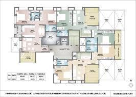 Residential House Floor Plan by Residential Building Floor Plans
