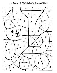 coloring pages color by letter worksheets color by number