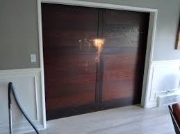 Bypass Closet Doors Home Design Wood Sliding Closet Doors With Mirrors Subway Tile