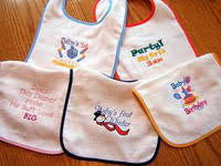 embroidery blanks for babies and toddlers monogramming