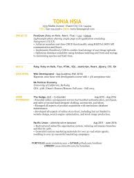 Best Resume Ever Github by Resume Tonia Hsia Aug 2016 Pages Resume Tonia Hsia Nov