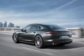 dark green porsche 2017 porsche panamera first look review motor trend