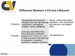 cv vs cv cv vs resume difference jobsxs