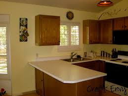 Yellow Cabinets Kitchen Neon Yellow Kitchen In Open Layout Home Pale Walls With White