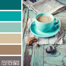color palette wood tan and teal if you like our color