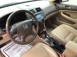 honda accord ex 2006 2006 used honda accord sedan ex l v6 with leather and sunroof at