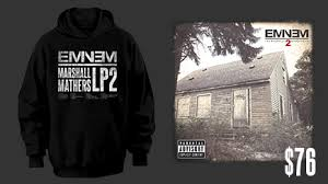 eminem selling limited edition mmlp2 album with 5 bonus tracks