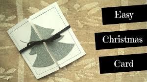 super easy christmas card tutorial easy christmas cardmaking for