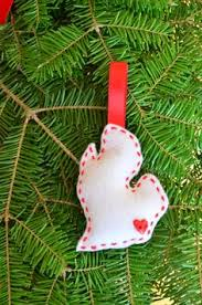 michigan state blown glass tree ornament