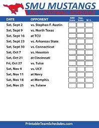 mustang football schedule 2017 smu mustangs football schedule aac football team