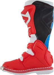 blue dirt bike boots acerbis x pro v motocross boots offroad red blue acerbis uniko