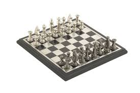 Modern Chess Table Modern Reflections 12