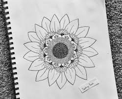 flower child drawing 17 best ideas about sunflower drawing
