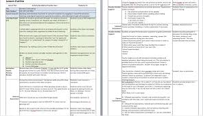 26 images of concept based instruction lesson plan template