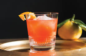 old fashioned cocktail party holiday cocktail satsuma old fashioned