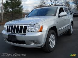 silver jeep grand cherokee 2008 jeep grand cherokee limited 4x4 in bright silver metallic