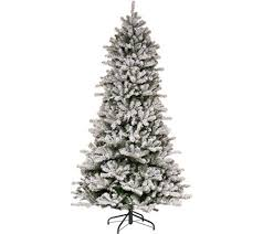 santa s best 7 5 flocked 137 function led smart tree page 1