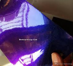 rainbow glitter car purple u0026 blue pearl gloss chameleon vinyl wrap film with air