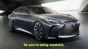 future lexus cars hydrogen is the future not battery electric cars lexus