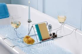 bathtub caddy with book holder bathtub book holder home design ideas and pictures