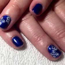 awesome blue and white nail designs design trends premium psd