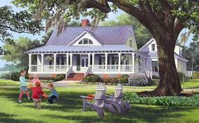 Wrap Around Porch House Plan Southern House Plans Wrap Around Porch Dormer House