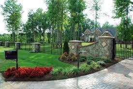 driveway landscaping u2013 wilson rose garden