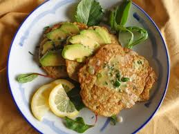 avocado pancakes with lemon parsley butter the candida diet