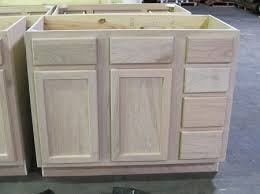 unfinished base cabinets with drawers fabulous download unfinished bathroom cabinets gen4congress com on