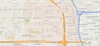 Map Chicago Loop by Near West Loop Neighborhood Map