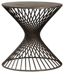 Habitat Side Table Wrought Iron Side Table Houzz