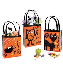 trick or treat bags handled felt treat bag magic cabin