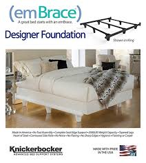 Knickerbocker Bed Frame Knickerbocker Embrace Bed Frame In White Size