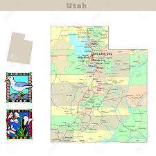 Map Utah Utah Usa Map New York Map Utah State On Usa Map Utah Flag And Map