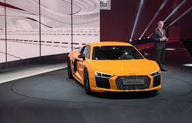 a guided tour of the audi r8 with quattro boss heinz hollerweger