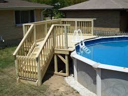 small deck plans for above ground pools home design ideas pool