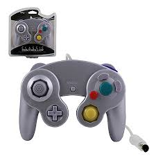 new silver replacement controller for gamecube u0026 wii https www