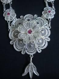 necklace silver filigree odissi ornaments