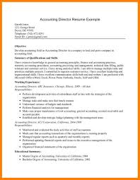 Accounts Receivable Resume Template 10 Accounting Resume Objectives Experince Letter