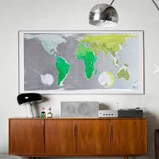 World Map Desk by Large World Wall Map By The Future Mapping Company