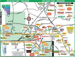 Zip Code Map Orlando by Map Of Orlando Theme Parks My Blog