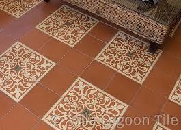 caribbean cement tile floor installations villa lagoon tile