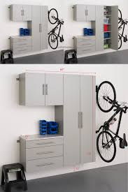 how to organize garage using wall mounted metal garage cabinets in