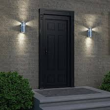 Outdoor Lightings by Brushed Nickel Outdoor Lights Home Design Ideas And Pictures