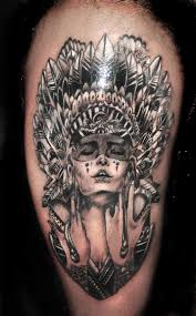mechanic tattoos lizard u0027s skin tattoos modern with red indian head gear