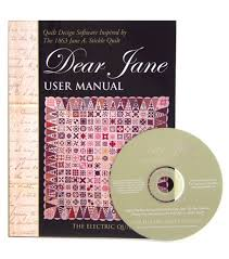 amazon com electric quilt r company u0027s dear jane quilt design