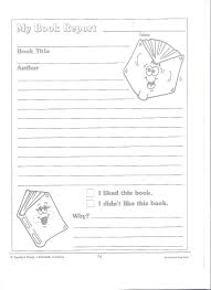 2nd grade book report template printable book report forms miss murphy s 1st and 2nd grade